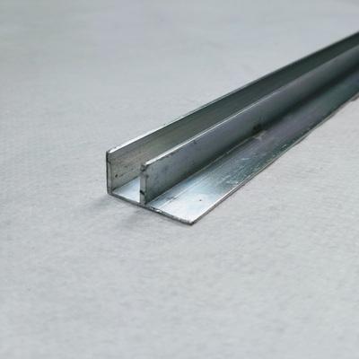 Perfis em Alumínio F 6,0mm e 10,0mm