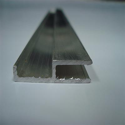 Perfis em Alumínio União Arremate 4,0mm, 6,0mm e 10,0mm