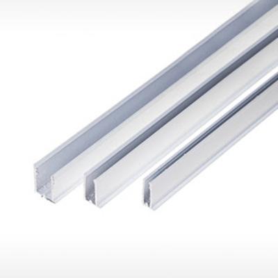 Perfis em Alumínio U 4,0mm, 6,0mm e 10,0mm
